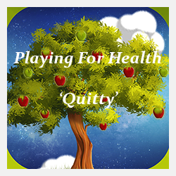 Gratis 'Quitty' The stop smoking game