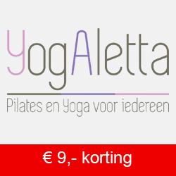 YogAletta - Pilates en Yoga voor iedereen